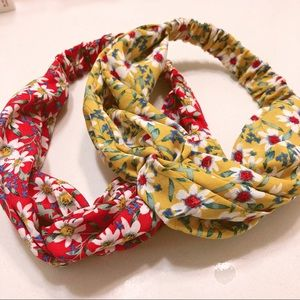 F21 Floral Hairbands